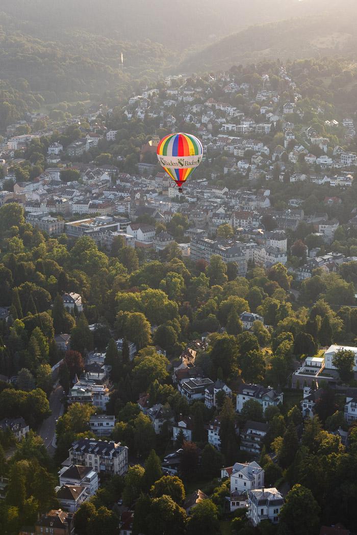 Ballonfahren im Schwarzwald