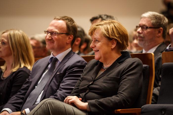 Angela Merkel in Freiburg