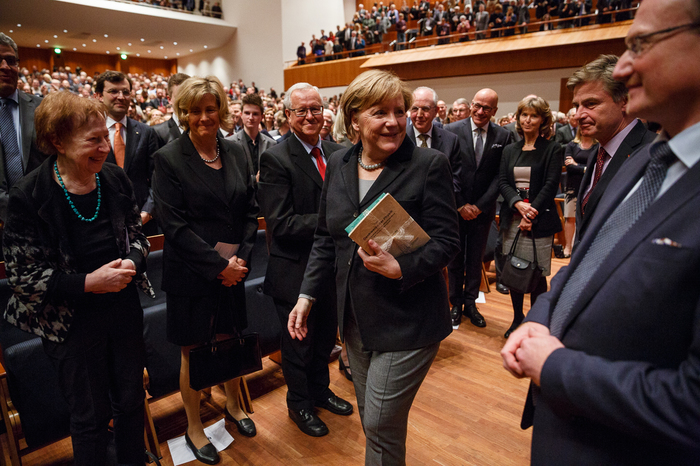 Angela Merkel in Freiburg