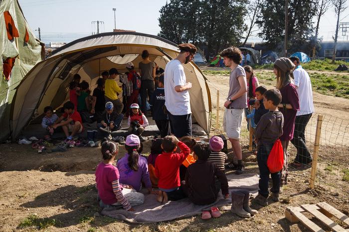 Idomeni School