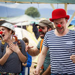 Clowns in Idomeni