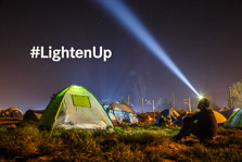 Lighten Up Idomeni