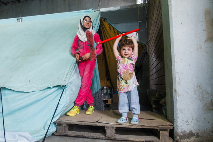 Refugee Camps in Greece