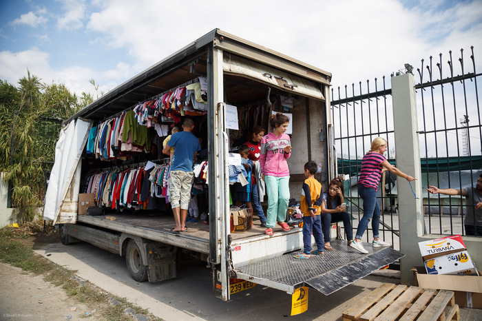 Clothes on Wheels