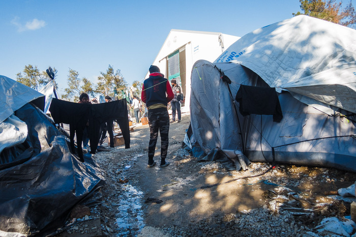 Moria Camp Lesvos