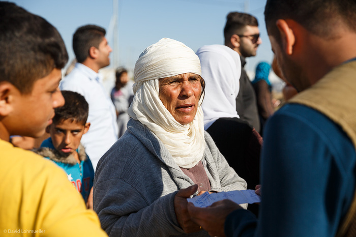 Kurdish refugees from Syria in Northern Iraq