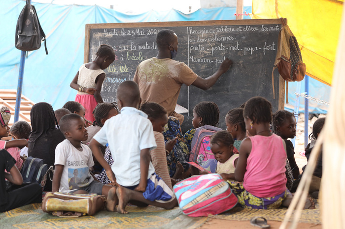 Refugee Camp Faladié in Mali